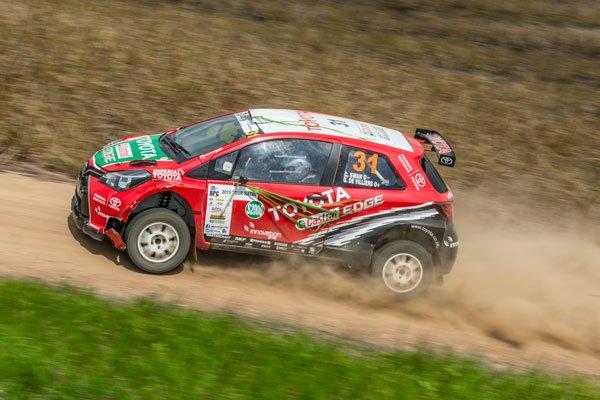 De Villiers and Swan - Team Castrol Toyota