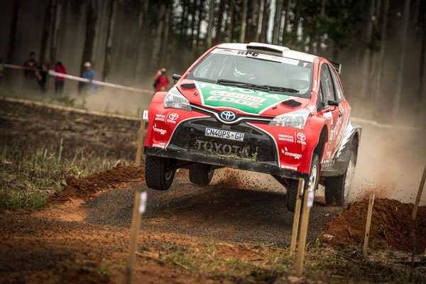Poulter and Coétzee - Team Castrol Toyota