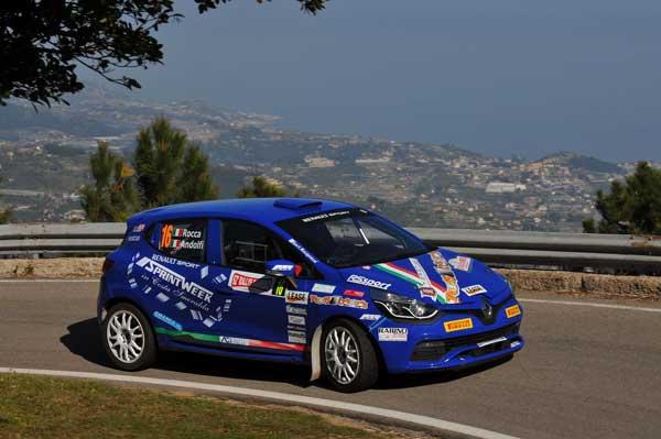 Andolfi e Rocca - Rallye Sanremo 2015