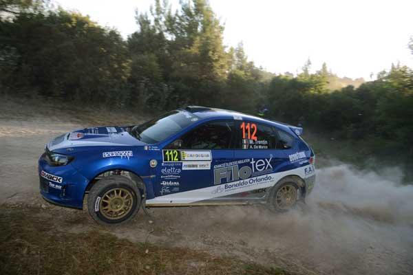 Mauro Trentin - Rally Italia Sardegna 2014