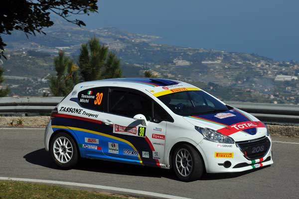 Michele Tassone - Rallye Sanremo 2015