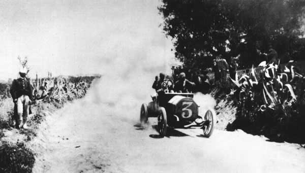 Cagno - Targa Florio 1906