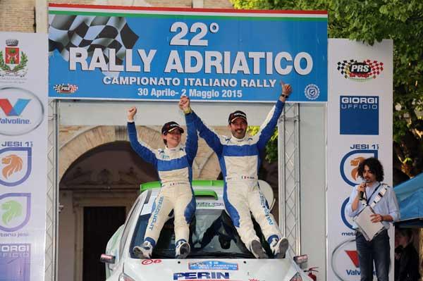 Trentin & De Marco - Rally Adriatico 2015