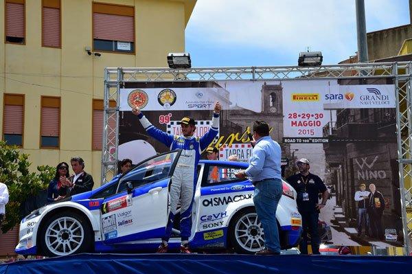 Chardonnet - Targa Florio 2015