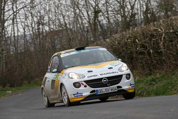 Emil Bergkvist - Circuit of Ireland 2015