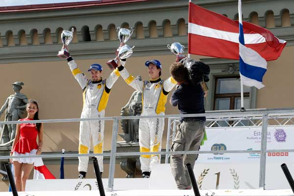 Bergkvist Sjöberg - FIA ERC Junior