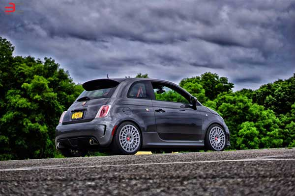 MontecarloCorse - Fiat 500 Abarth
