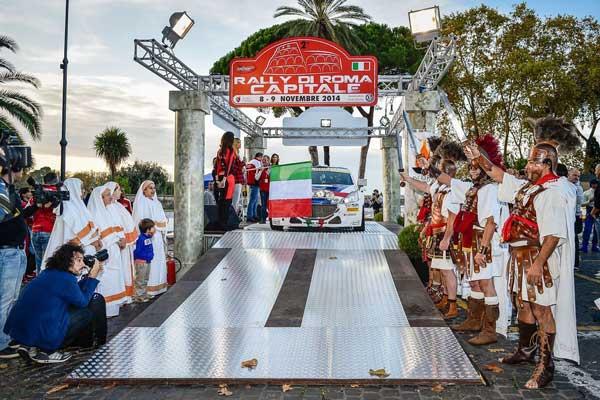 Andreucci - Rally Roma Capitale 2014
