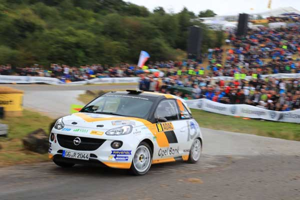 Julius Tannert - ADAC Rallye Deutschland 2016