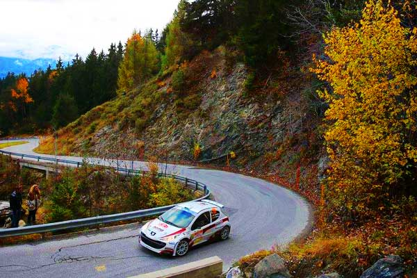 Rally Du Valais Peugeot