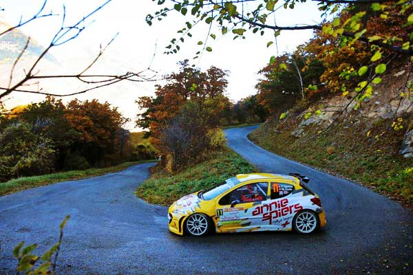 Rally Du Valais Yellow Peugeot