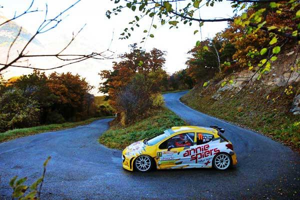 Rally Du Valais Yellow Peugeot