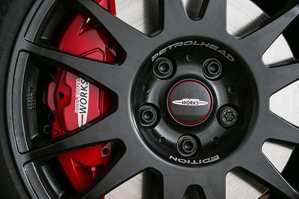 Petrolhead Edition particolare ruota