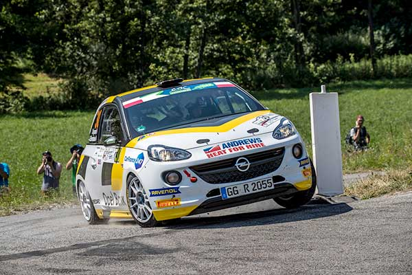 Chris Ingram on Opel Adam with EVO Corse wheels