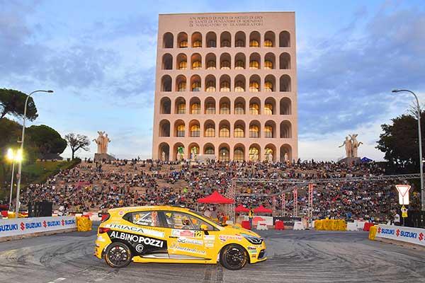 Gilardoni al Rally di Roma Capitale