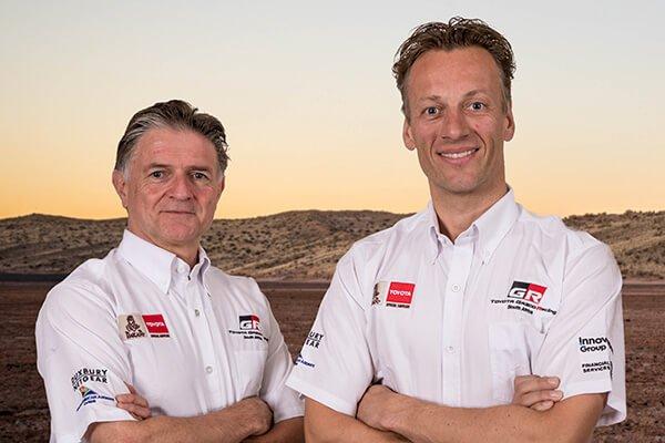 Bernhard ten Brinke and Michel Perin