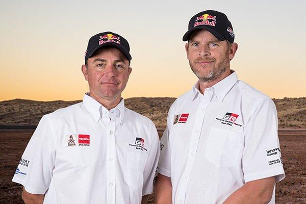 Giniel de Villiers and Dirk von vitzewitz