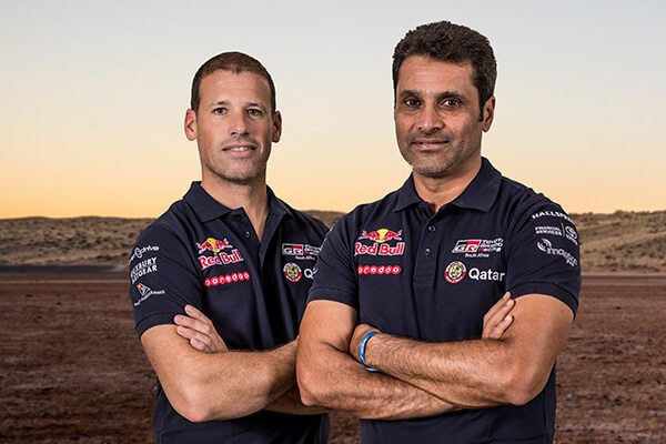 Nasser Al-Attiyah and Mathieu Baumel