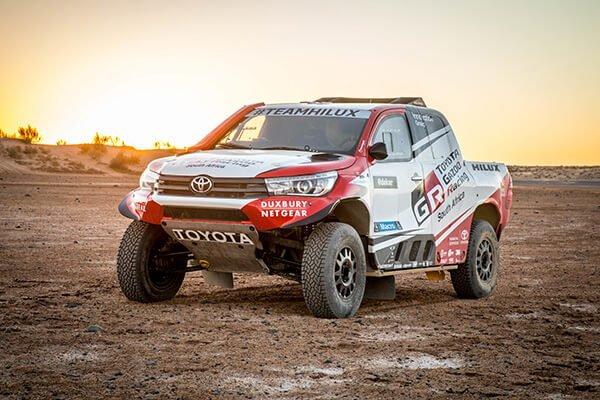 Toyota Hilux Dakar 2018