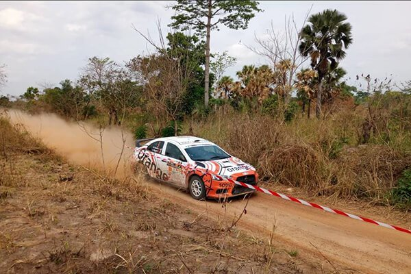 Gary Chaynes - Rally Bandama Cote d'Ivoire 2018