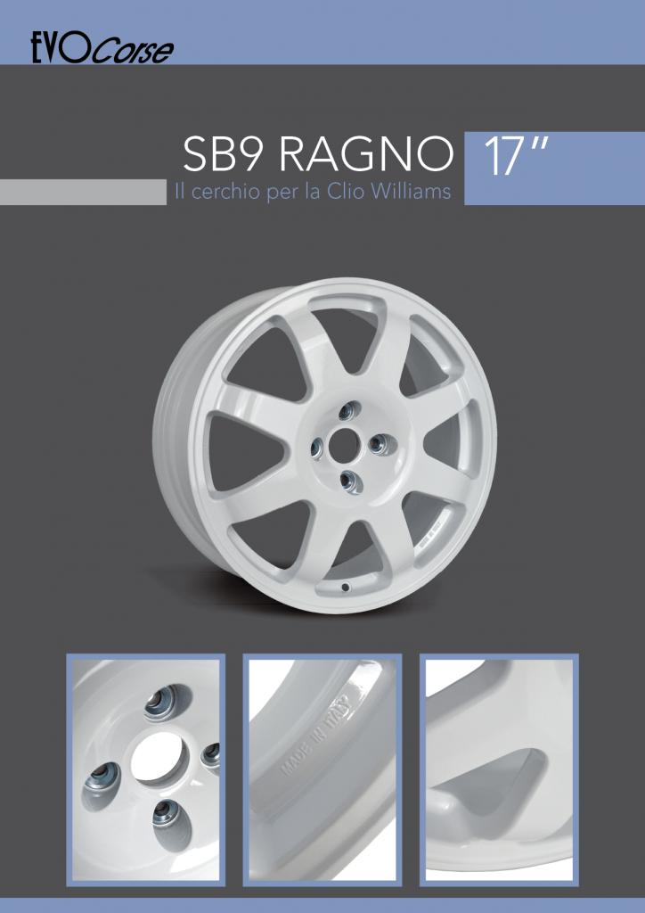 SB9Ragno brochure in italiano