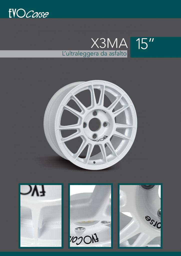 X3MA brochure in italiano