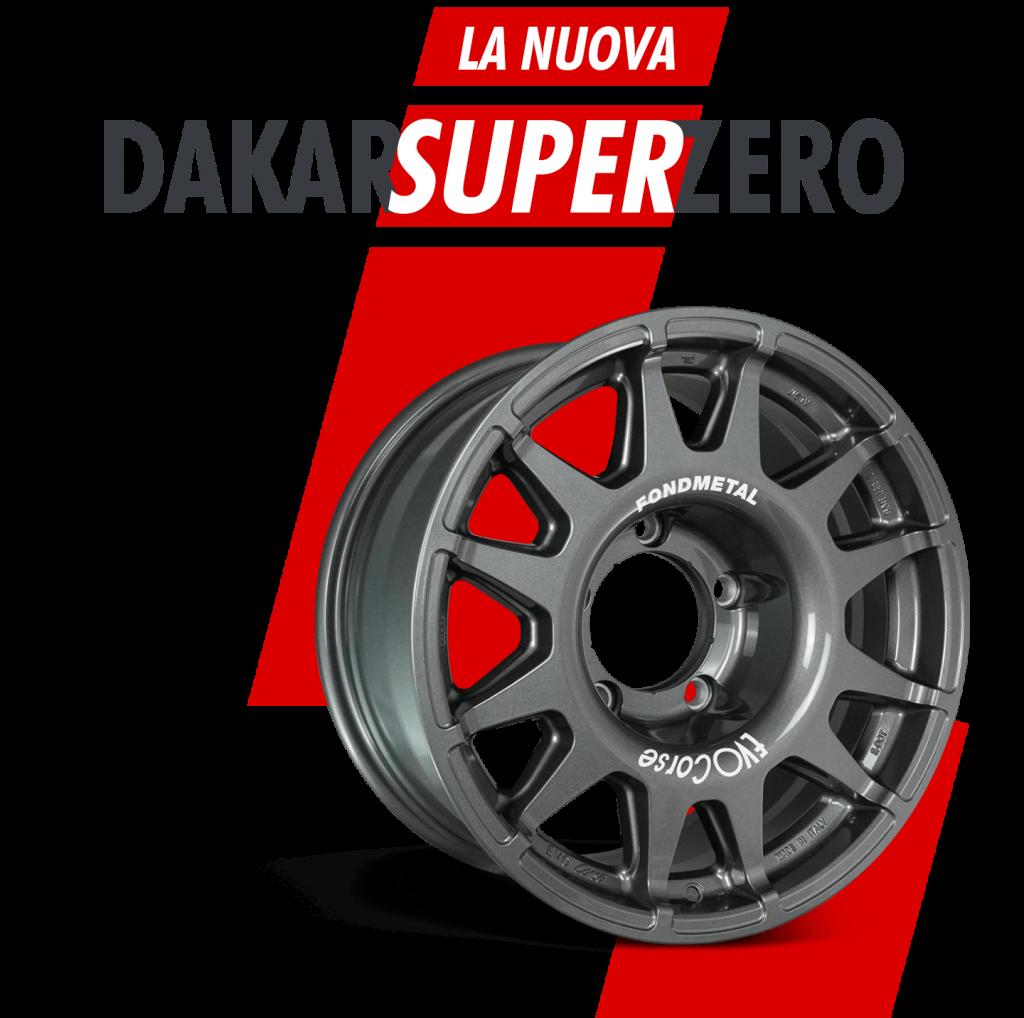 La nuova DakarSuperZero 17 - News