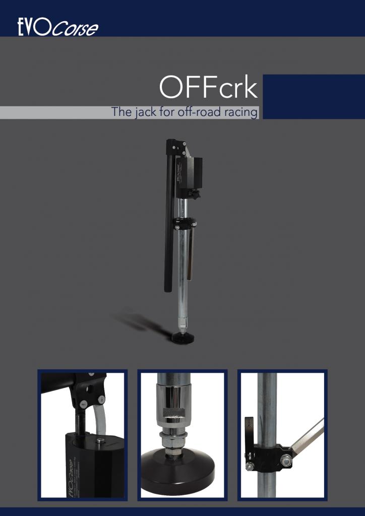 Hydraulic jack OFFcrk Brochure in English
