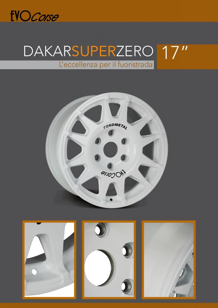 DakarSuperZero 17 copertina scheda tecnica